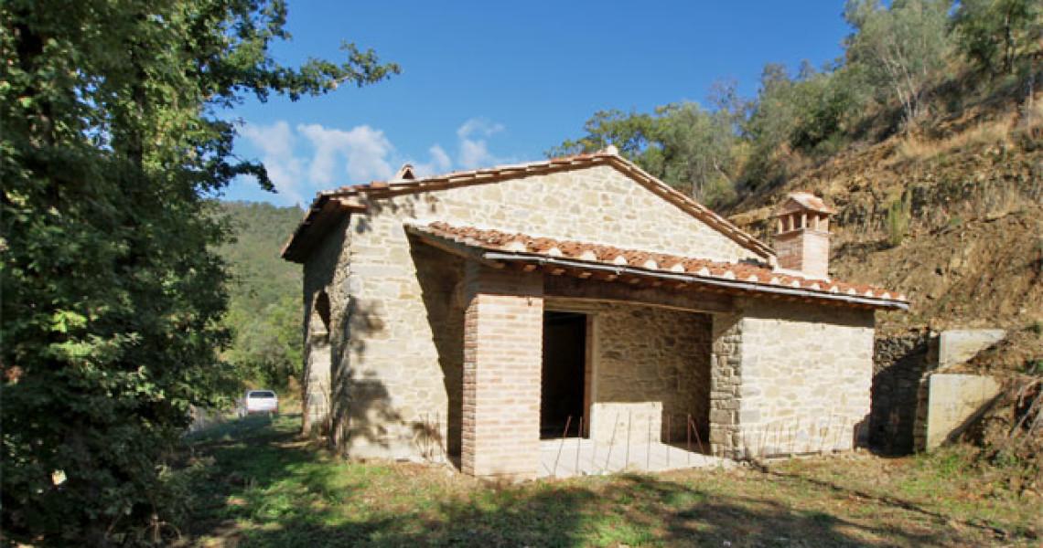 Jkm b743 coloniche e rustici val di chio castiglion for Piccole planimetrie di piccole case
